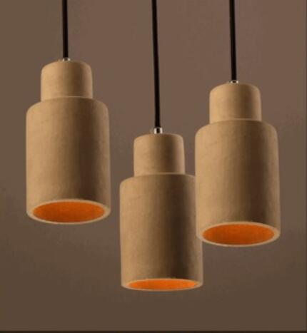 new modern European increative cement art decor pendent lamp E27 LED dinging room lamp bar lights A027 the role of ict to make teaching learning effective case study uganda