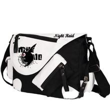 Akame ga KILL Cartoon Cosplay Messenger Bag High Quality Large Capacity Canvas School Bag