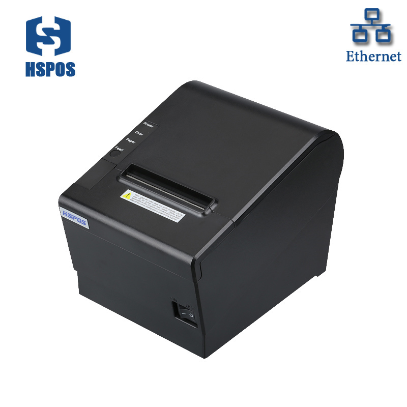 80mm rj45 thermal printer USB pos ticket printer with DHCP function support multi language for bill printing cheque printer goojprt mtp 3 portable 80mm bluetooth thermal printer exquisite lightweight design eu plug support android pos multi language