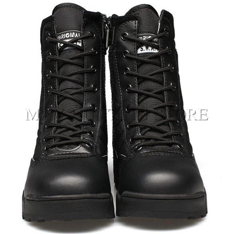 Tactical Military Boots Outdoor Training Combat Army Shoes Western Men Swat Desert Shoes Uhren & Schmuck