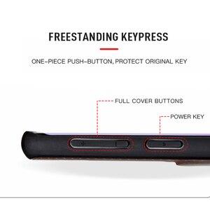Image 3 - Kılıf için Galaxy S9 kılıfı sıkıntılı hakiki deri kapak sert koruma iş Capas Samsung S9 darbeye dayanıklı arka kapak