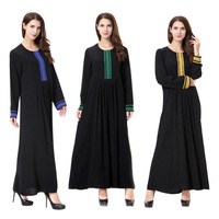 The New Hot Muslim Long Dress for Women Islamic Arab Middle East Woman's Robe Dubai Arab Middle East Women's Wear Long Dress