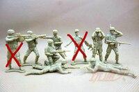 1:35 mini 5cm pvc figure Toy Soldier Soldier person sci fi classic battle scenes soldiers bulk Star 50pcs/set