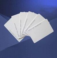 1000 шт./лот 125 кГц EM4100 TK4100 RFID пустой смарт удостоверение личности с идентификационный номер карты для струйных принтеров для система контроля