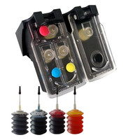 Refillable Ink Cartridge replacement for Canon PG 510 CL 511 compatible for Canon MP270 MP280 MP480 MP490 MX350 MP240 iP2700