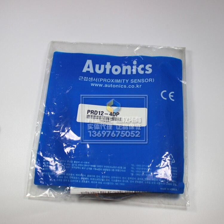 [Original authentic] Autonics PRD12-4DP long distance proximity switch PNP normally open[Original authentic] Autonics PRD12-4DP long distance proximity switch PNP normally open