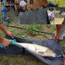 Carp Fishing Beanie Unhooking Mat Large Carp Fishing Landing Mat NGT Padded For Fish Protection Carp