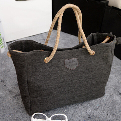 2015-New-Canvas-Handbag-Personality-Contracted-Large-Bag-Single-Or-Double-Rope-Shoulder-Bag-For-Woman (3)