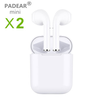 Padear mini X2 1 Bluetooth X1 Headset Earbuds Air Pods Wireless Earphone for Iphone Android 678PLUS X xs RS Max Sumsung MINI