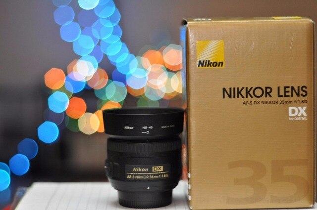 Masywnie Nikon 35 1.8G soczewek Nikkor AF S 35mm f/1.8G DX obiektyw do TD17