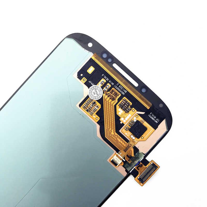 AMOLED شاشات lcd لسامسونج غالاكسي SIV S4 i9500 i9502 i9505 i9506 i9515 i959 i337 i545 M919 L720 R970 عرض محول الأرقام بشاشة تعمل بلمس