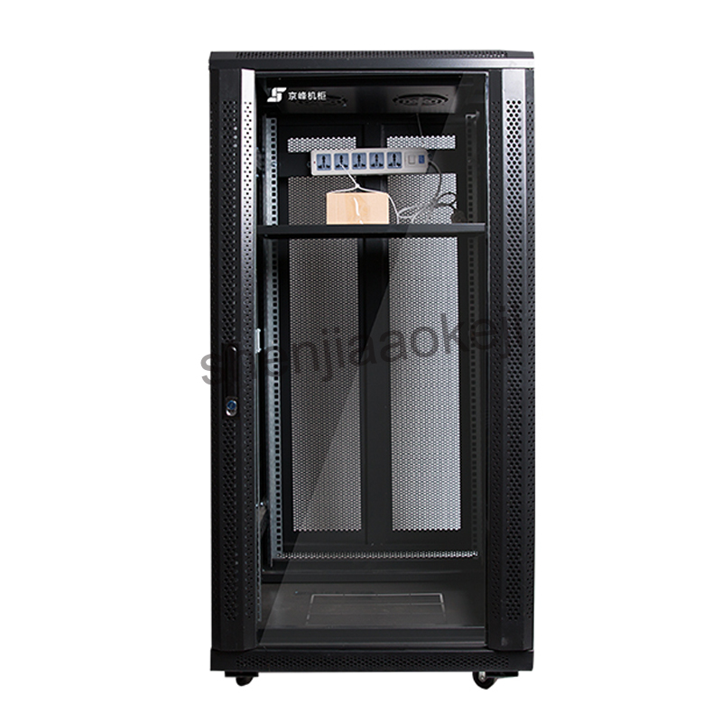 22U etwork Cabinet Web Server Cabinets network rack server stored program controlled switching cabinet monitor 1pc a 028 diy mining case chassis cabinet server rack data network cabinet can be customizable