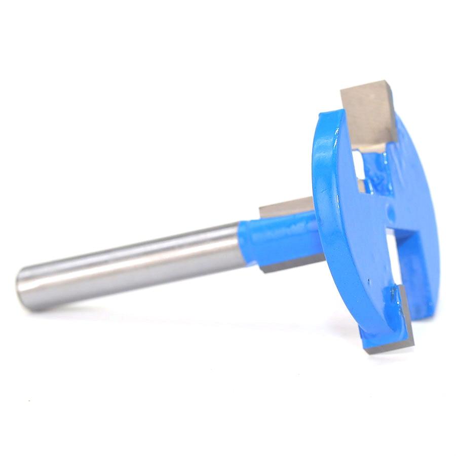 Купить с кэшбэком 1/4 Woodworking Milling Cutters Electric Straight Edge T-knife Slot Knife Woodworking Construction Hook Slot Milling Cutter Tool