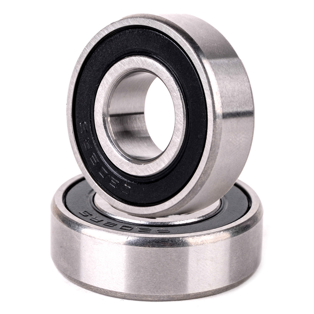 1pc High Precision Black Silver Deep Groove Bearing 6202-2RS Mayitr Shielded Rubber Sealed Wheel Ball Bearings 15mm*35mm*11mm gcr15 6326 open 130x280x58mm high precision deep groove ball bearings abec 1 p0