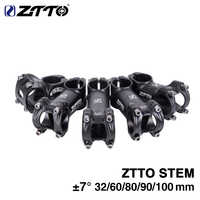 ZTTO 32 60 80 90 100mm High-Strength Lightweight 31.8mm Stem for XC AM MTB Mountain Road Bike Bicycle part
