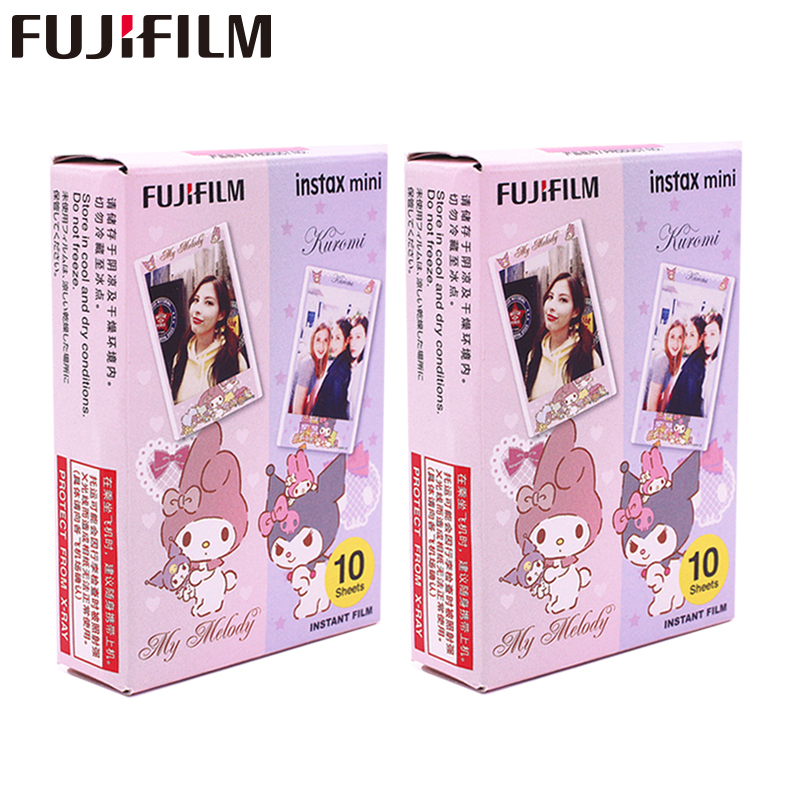Fujifilm Instax Mini 8 9 Film My Melody Fuji Instant Photo Paper 20 Sheets For 70 7s 50s 50i 90 25 Share SP 1 2 Camera|Film| |  - title=