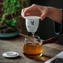 Набор для чая из боросиликатного стекла фарфоровые чайные наборы
