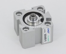 SDA20*35 Airtac Type Aluminum alloy thin cylinder,All new SDA Series 20mm Bore 35mm Stroke