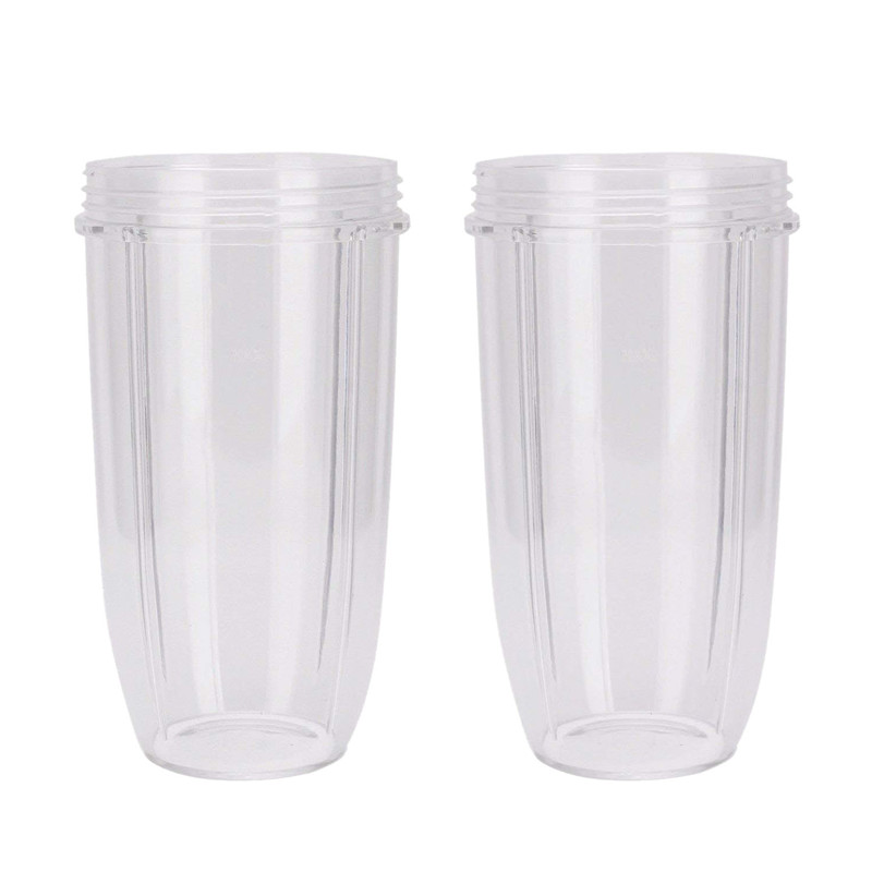 Juicer Accessories 2PC/Set Juicer Cup PC Materials Mug Clear Replacement For NutriBullet Nutri For Bullet Juicer New