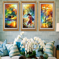 Diamond Embroidery 5D Icons Scenery Diamond Cross Stitch Crystal Round Diamond Decorative Diy Diamond Painting Christmas