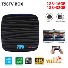 T98 Mini TV Box Android 8.1 Smart TV