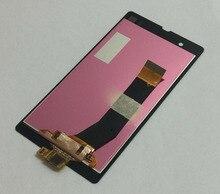 Купить Для sony Xperia Z L36H L36i C6606 C6603 C6602 C660X C6601 черный Сенсорный экран планшета Панель + ЖК-дисплей Дисплей монитора в сборе