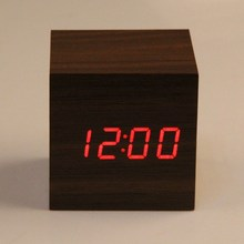 Brand New Mini Wooden Electronic Desktop Digital Table Clocks