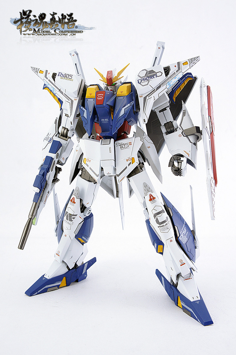 ФОТО RX-105 Hathaway / Cauchy Gundam / three Gundam/ spot/7 inch Assembled with high quality / free shipping