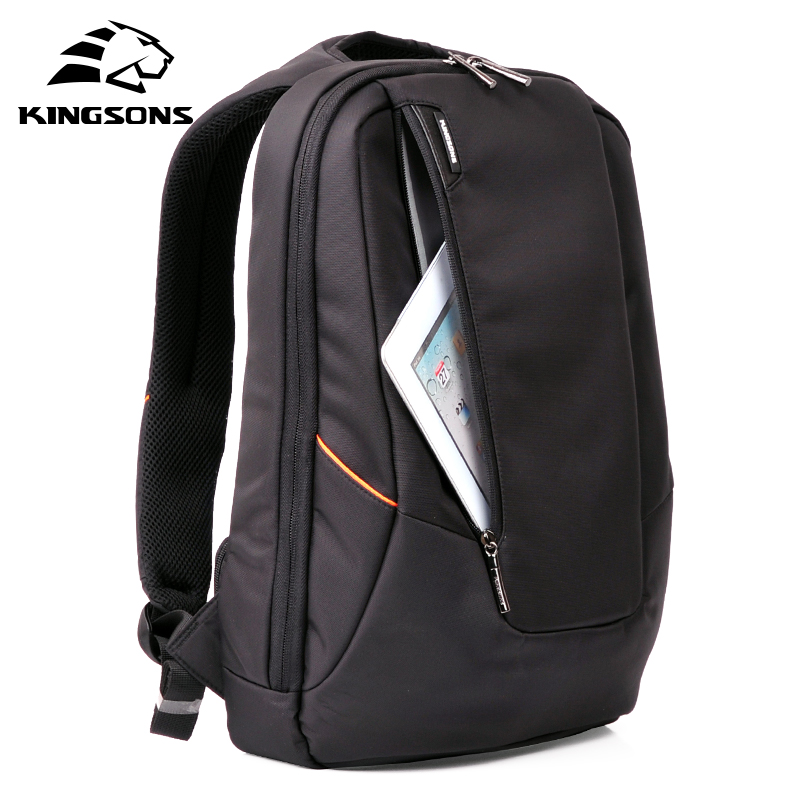 Kingsons KS3019W Candy Black Laptop Backpack Man Daily Rucksack Travel Bag School Bags 15 6 inch