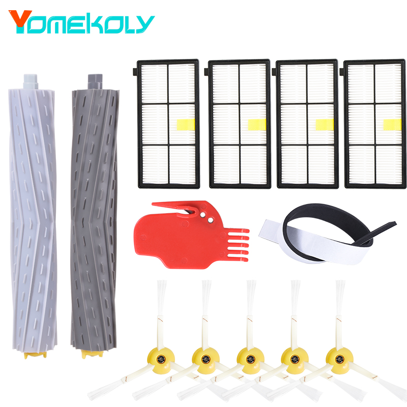 13Pcs/Lot Tangle-Free Debris Extractor Replacement For iRobot Roomba 800 900 series 870 880 980 Vacuum Robots Cleaners Parts(China)