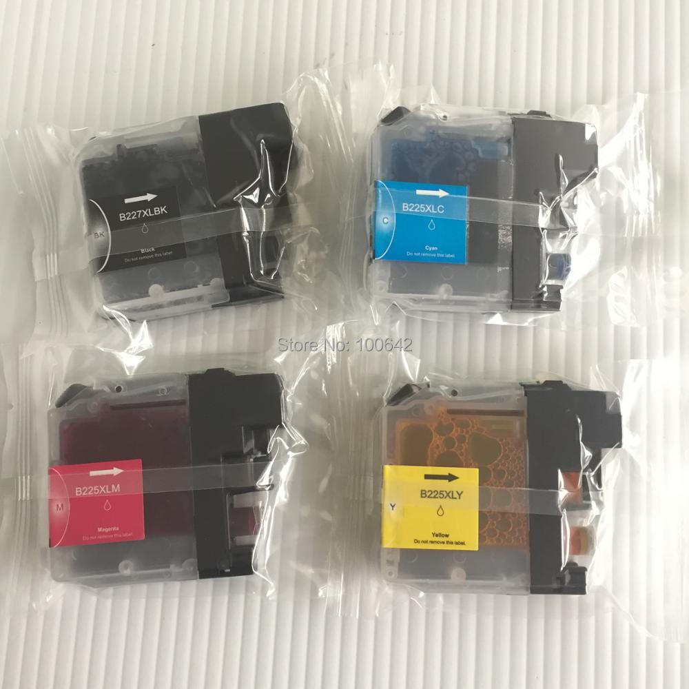YOTAT Compatible ink cartridge LC227XL LC225XL LC227 LC225 For Brother DCP-J4120DW MFC-J4420DW MFC-J4620DW MFC-4625DW printerYOTAT Compatible ink cartridge LC227XL LC225XL LC227 LC225 For Brother DCP-J4120DW MFC-J4420DW MFC-J4620DW MFC-4625DW printer