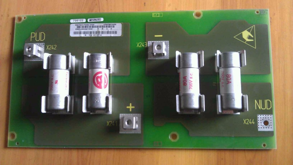 Teardown inverter insurance board quick fuse 6SE7027-7TD84-1HG0 inv32s12m ssi320wf12 hs320wv12 inverter board