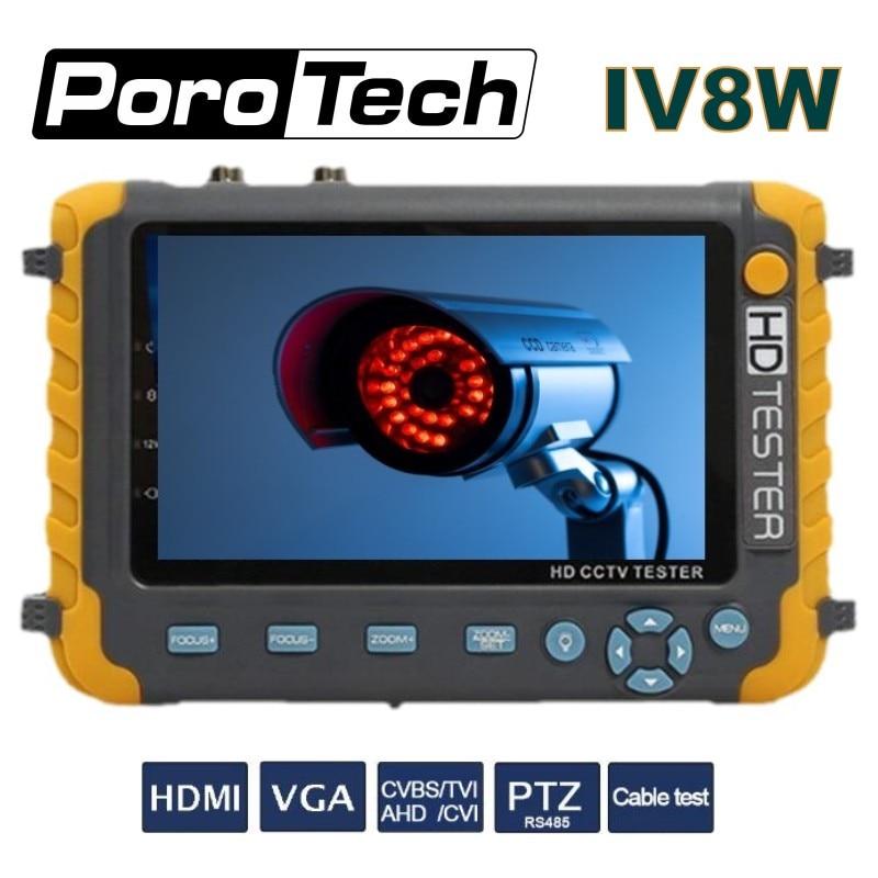 LCD 5 Touch Screen Multi-functional CCTV Tester Monitor IV8W 4 IN 1 5MP AHD TVI 4MP CVI CVBS Analog Security Camera TesterLCD 5 Touch Screen Multi-functional CCTV Tester Monitor IV8W 4 IN 1 5MP AHD TVI 4MP CVI CVBS Analog Security Camera Tester