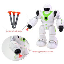 Electric Robot Toy Sound And Light Launch Soft Bullet Toys For Boys Dolls Lol Action Figure Toys For Children Robot Lol Dolls стоимость