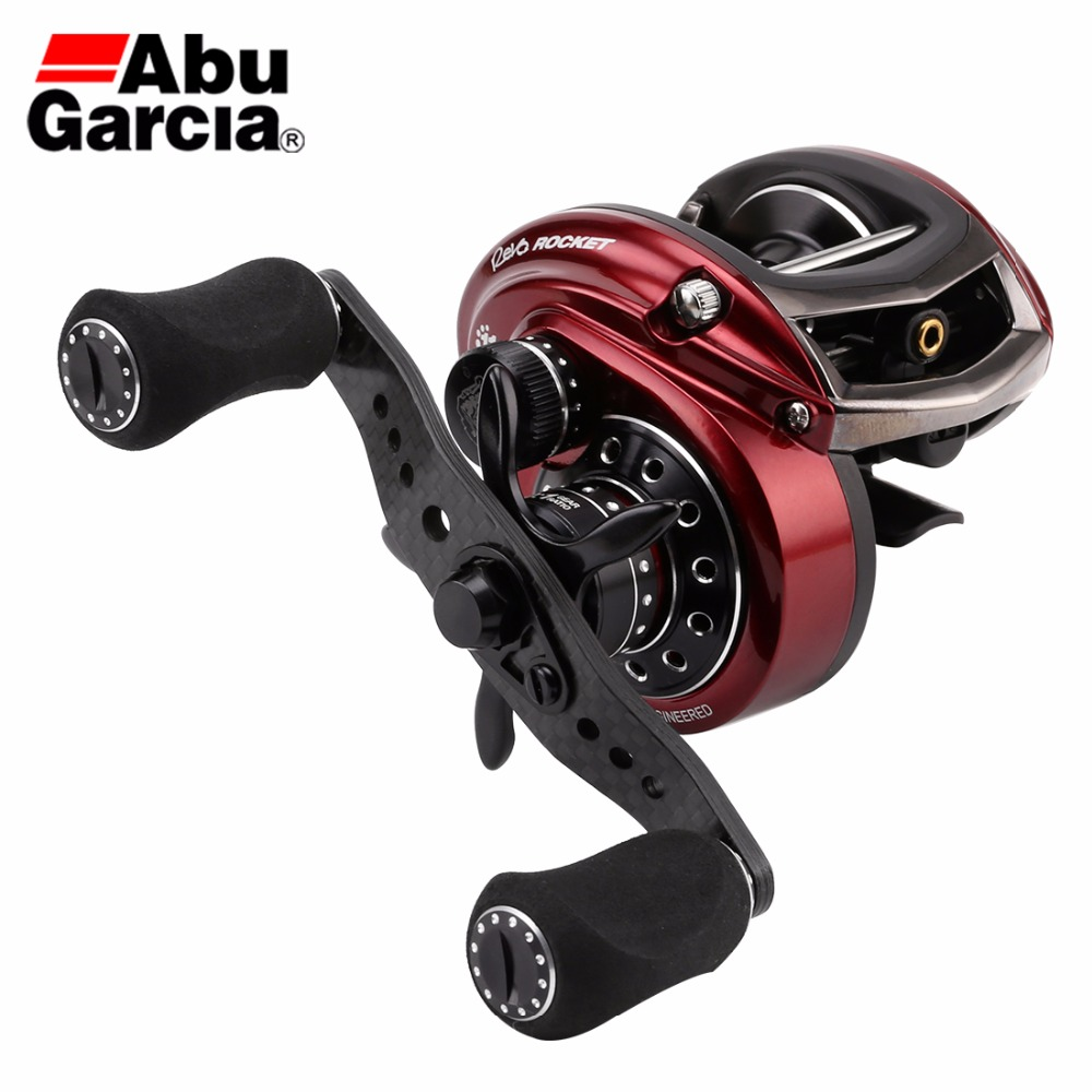 Abu Garcia Brand REVO ROCKET III Baitcasting Fishing Reel 10 1BB 9 0 1 9KG Low