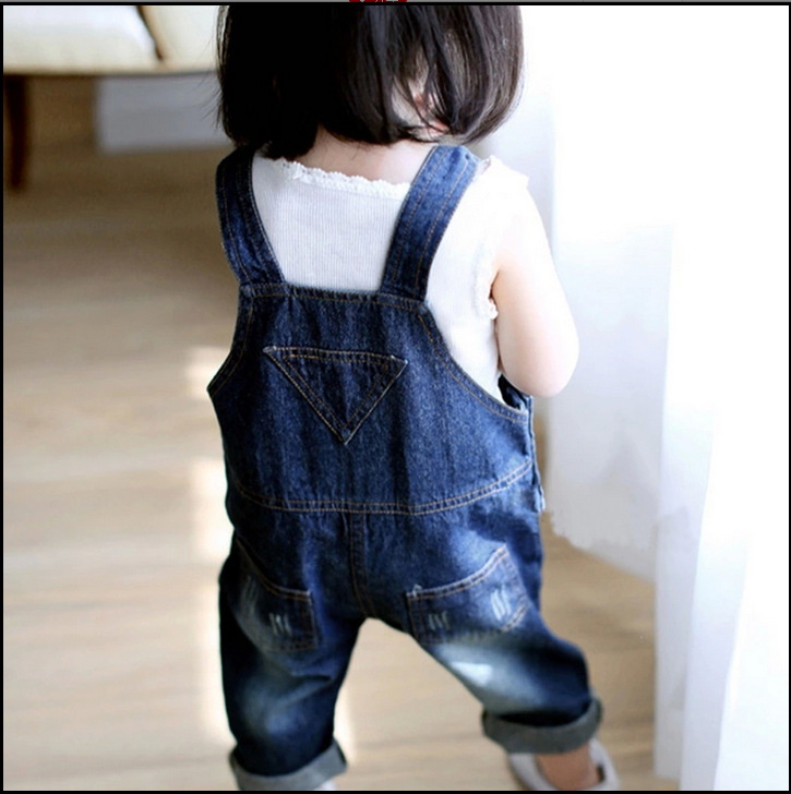 e2736597a 2019 girls jeans trousers children lovely boys and girls overalls child PP pants  wholesale-in Jeans from Mother & Kids on Aliexpress.com   Alibaba Group