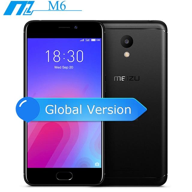 """Ban đầu Meizu M6 Phiên Bản Toàn Cầu 4G LTE Di MT6750 Bộ vi xử lý 5.2 """"RAM 2 GB ROM 16 GB 13MP 4G LTE Vân Tay ID"""
