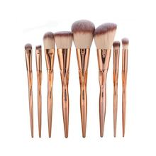 8pcs Pretty Makeup Brushes Set Power Foundation Cosmetic Face Eyeshadow Blush