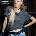 Fioretto New Fashion Womens Black Embossed Cowhide Wide Leather Belt  Waistbands With Metal Hardware