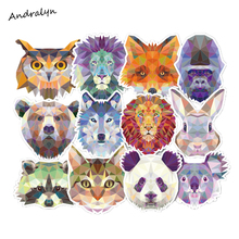 35Pcs/lot Animal abstraction Style Sticker For Car Laptop Luggage Skateboard Backpack Tables Case Decal Kids Toy Sticker