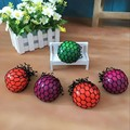 Antistress Face Reliever Grape Ball Autism Mood Squeeze Relief Healthy Toys Funny Geek Gadget for Halloween Jokes 5CM