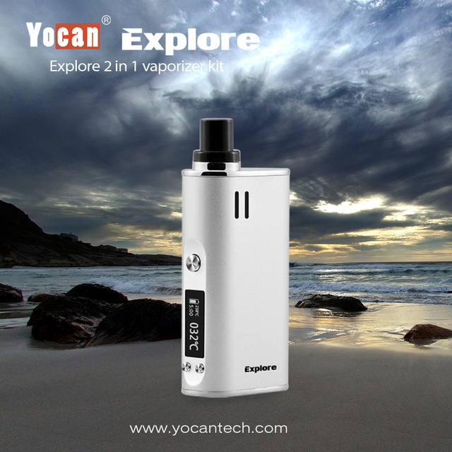 Yocan Explore 2-in-1 Wax and Dry Herb Mod Kit 2600mAh Battery 3