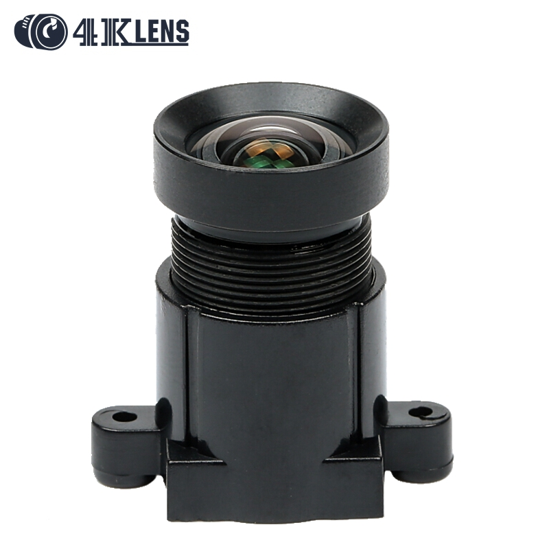4K LENS 4 35MM Lens 1 2 3 Inch 10MP IR 72D HFOV NON Distortion for