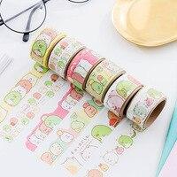 24 pcs/lot Fantastic Sumikko Gurashi Washi Tape Adhesive Tape DIY Scrapbooking Sticker Label Masking Tape