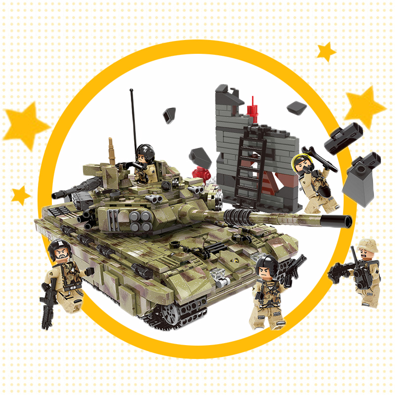 1386+pcs Military German King Tiger Tank Building Blocks Compatible Legoingly Army WW2 soldier weapon brick children Toys1386+pcs Military German King Tiger Tank Building Blocks Compatible Legoingly Army WW2 soldier weapon brick children Toys