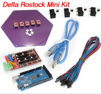 Delta Rostock mini kit kossel kit reprap A4988 +Ramps 1.4+ Mega 2560 and 4Pin wire cable