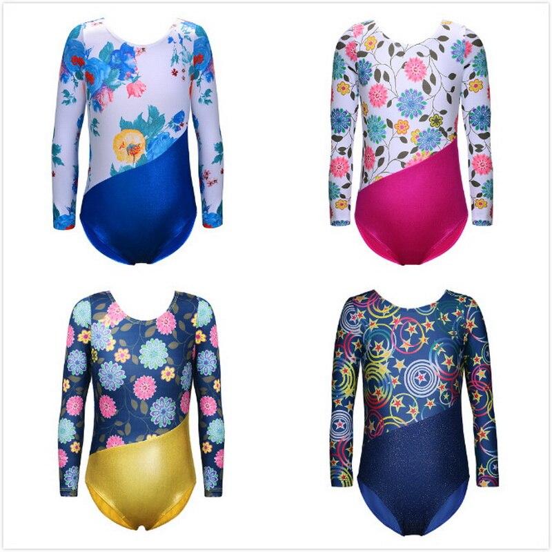 leotard-for-girls-font-b-ballet-b-font-tutu-dance-wear-gymnastics-leotards-long-sleeves-flower-galaxy-dance-leotards-girls-training-dancesuit