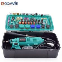 GOXAWEE 30000 rpm Perceuse Électrique outils Électriques Mini Grinder Outils Rotatifs Avec Polissage Outils Set Mini Outils De Meulage Mini Grinder