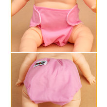 3pcs summer breathable mesh diaper adjustable baby cloth diapers nappy pants preventing leak diapers(China)