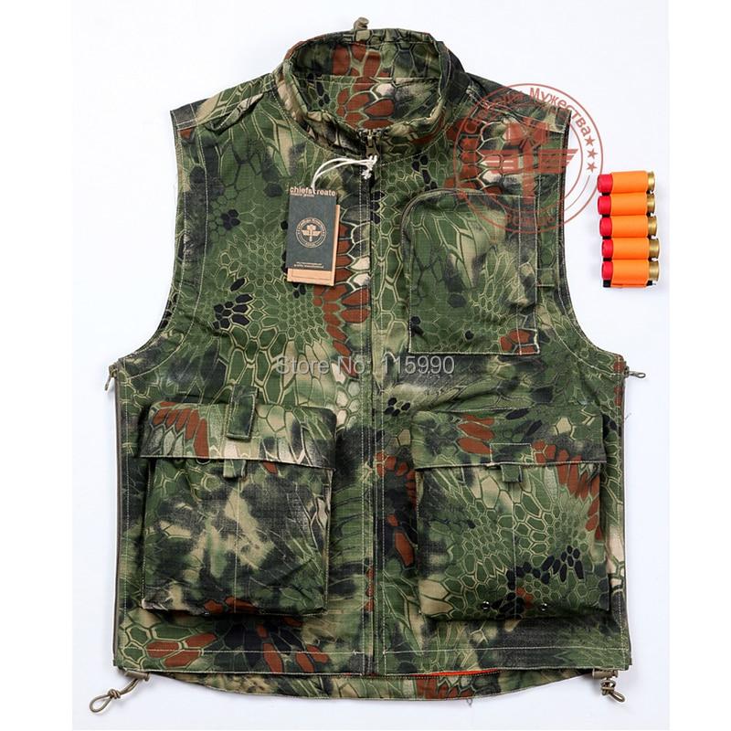 Kryptek Camouflage Vest / Combat Vest/ Mardrake Vest Tops Duty  Vest Camouflage